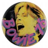 David Bowie - 'David 76 Singing' Button Badge